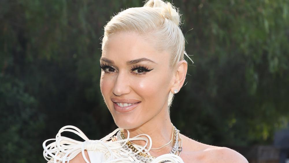 Gwen Stefani at a Hallmark event