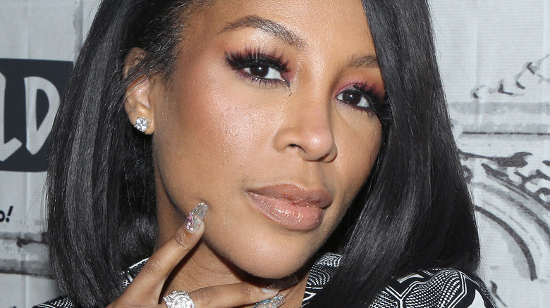 K Michelle at Build By Yahoo