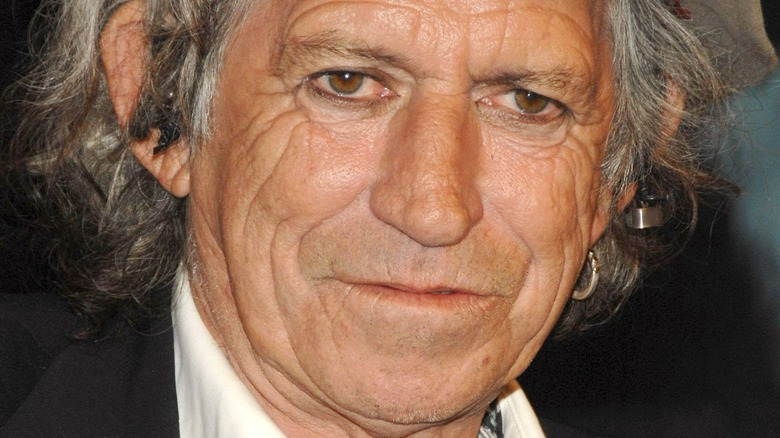 Keith Richards at an event