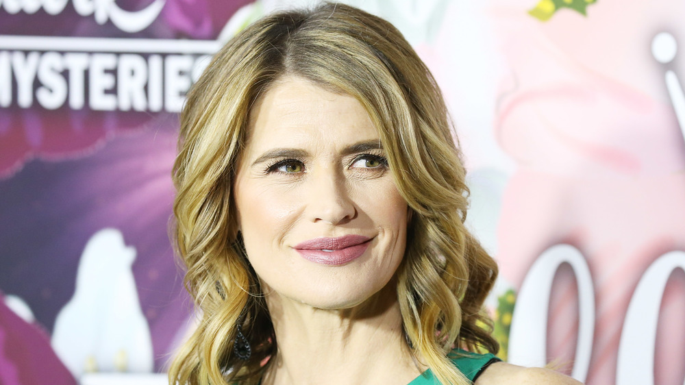 Kristy Swanson on the red carpet