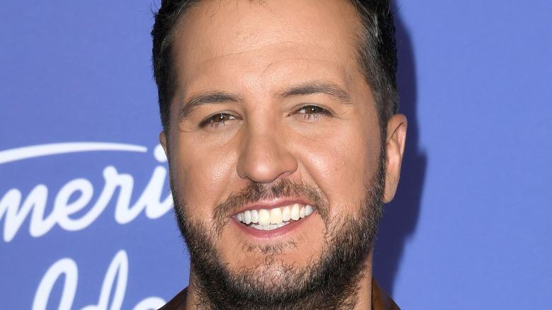 Luke Bryan at 'American Idol' premiere 2020