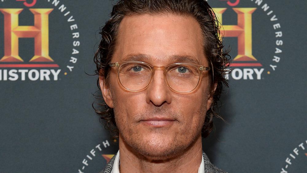 Matthew McConaughey at red carpet