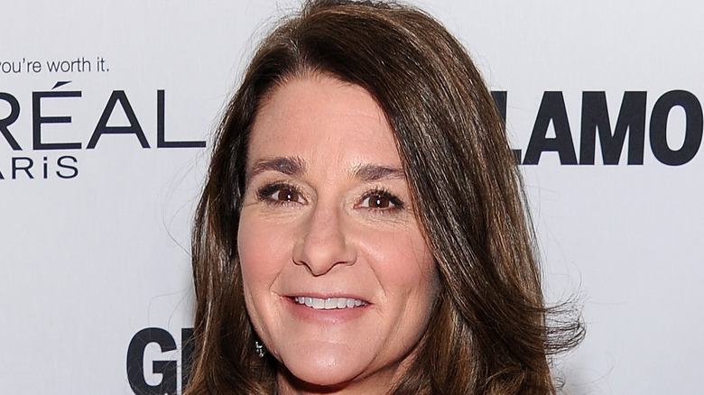 Melinda Gates Glamour's attending 23rd annual Women of the Year awards