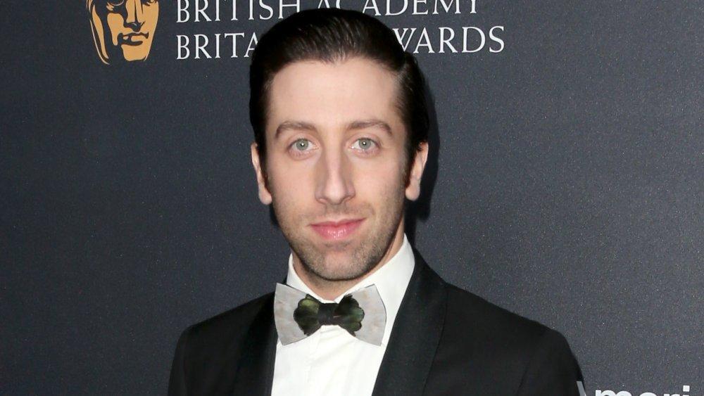 The Big Bang Theory star Simon Helberg