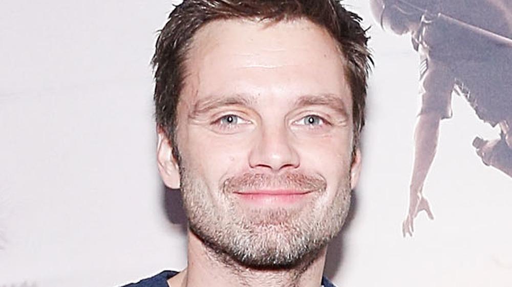Sebastian Stan smiling