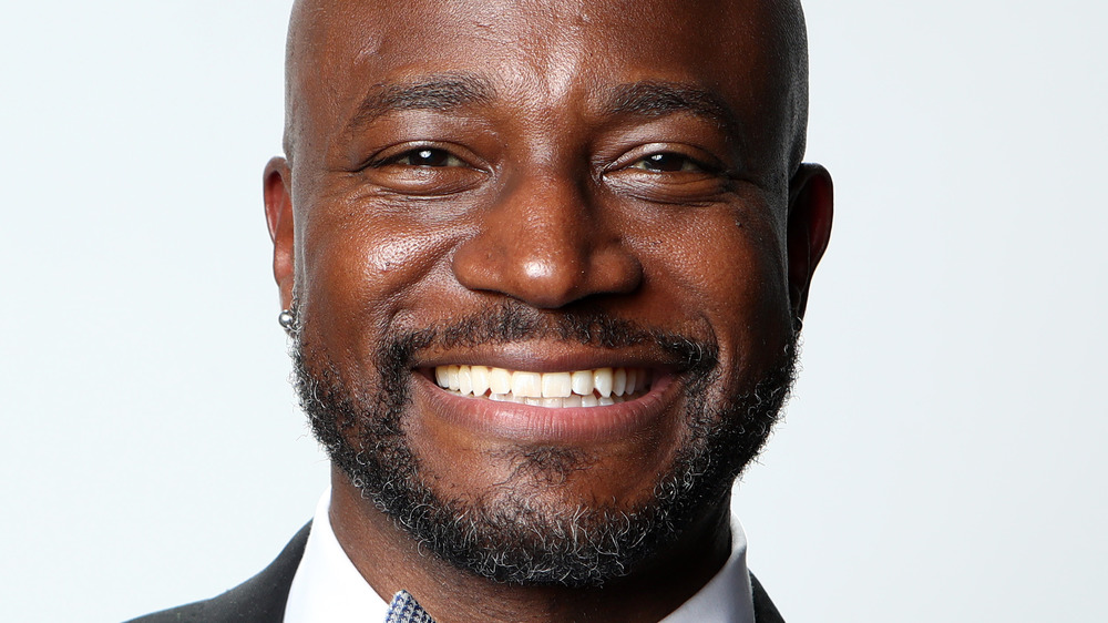 Taye Diggs smiling for the camera