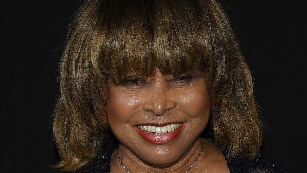 Tina Turner smiles on a 2018 red carpet