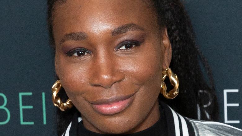 Venus Williams 'Being Serena' premiere smile