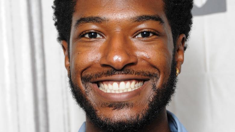Willie Jones, smiling, facial hair, 2018 photo