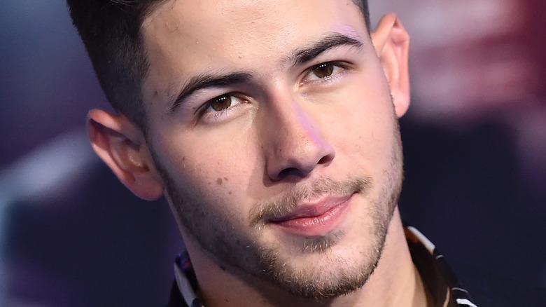 Nick Jonas on red carpet