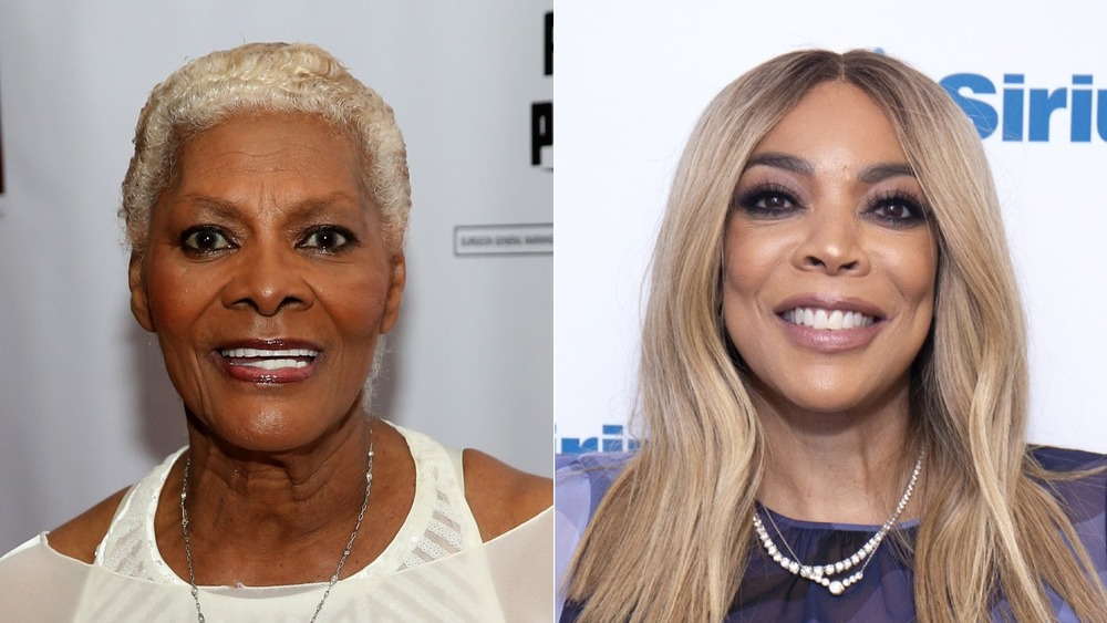 Wendy Williams and Dionne Warwick