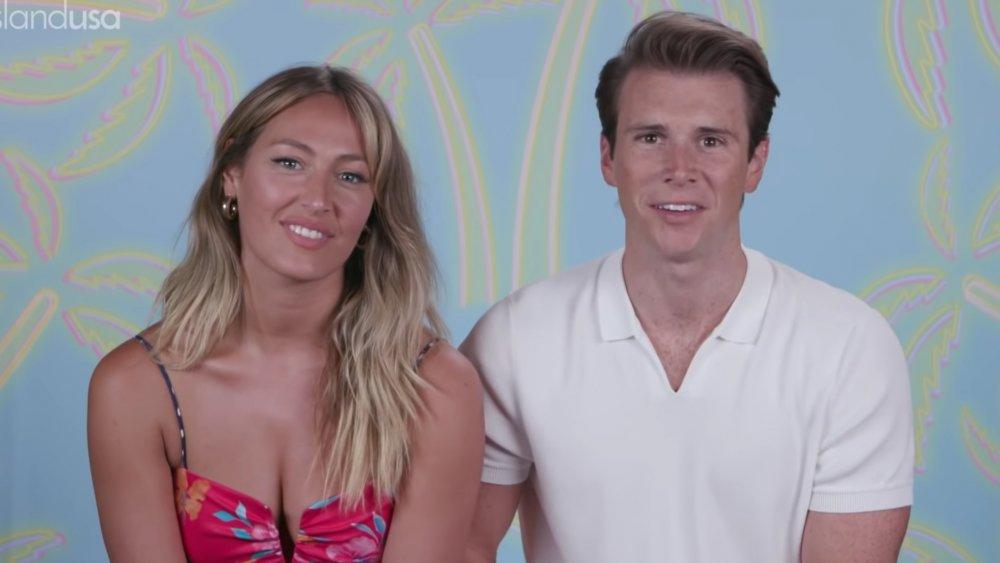 Moira and Calvin from Love Island USA