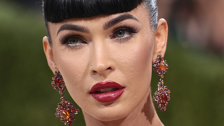 Megan Fox met gala makeup