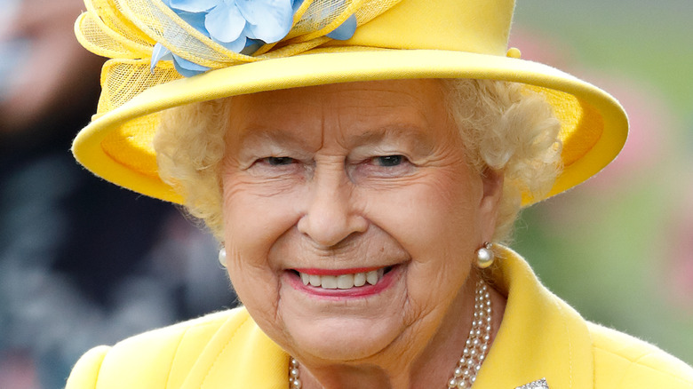 Queen Elizabeth at the Royal Ascot in June 2018