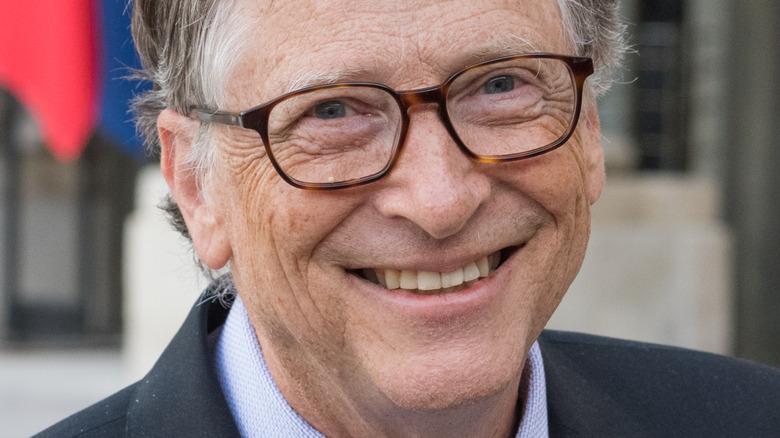 Bill Gates smiling broadly