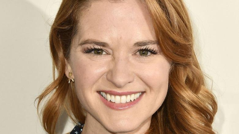 Sarah Drew smiling
