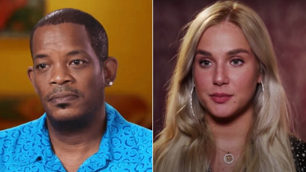 Caesar Mack and Maria from 90 Day Fiance