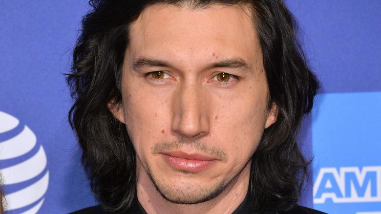 Adam Driver longish hair