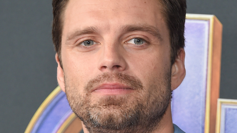 Sebastian Stan posing