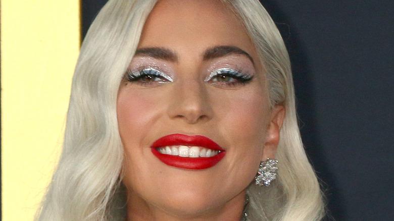 Lady Gaga smiling