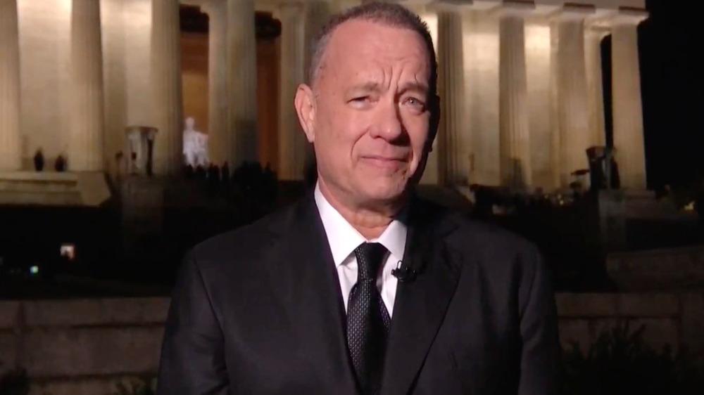 Tom Hanks in Celebrating America special