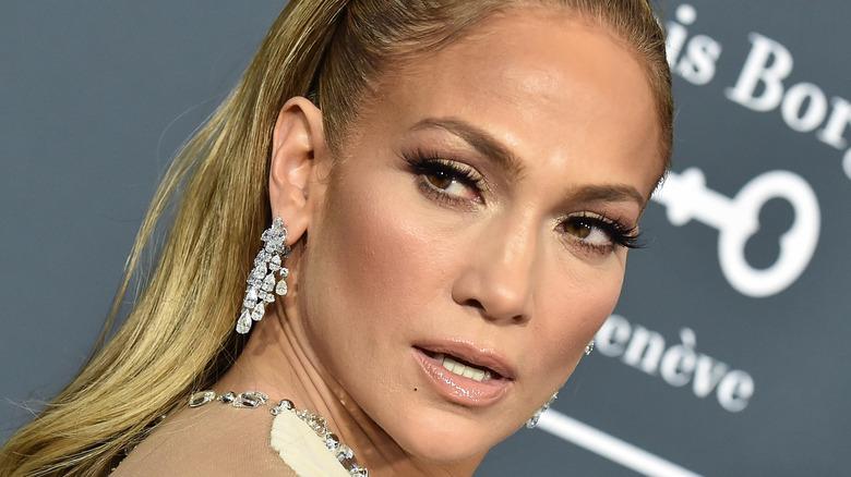 Jennifer Lopez in 2020