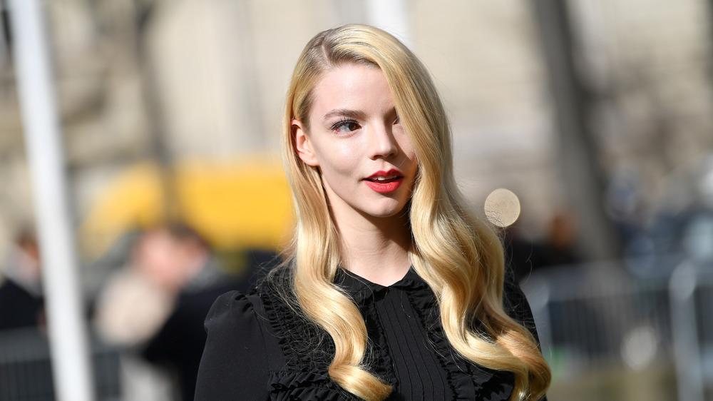 Anya Taylor-Joy at Paris Fashion Week