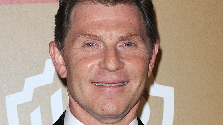 Bobby Flay at a Golden Globes party