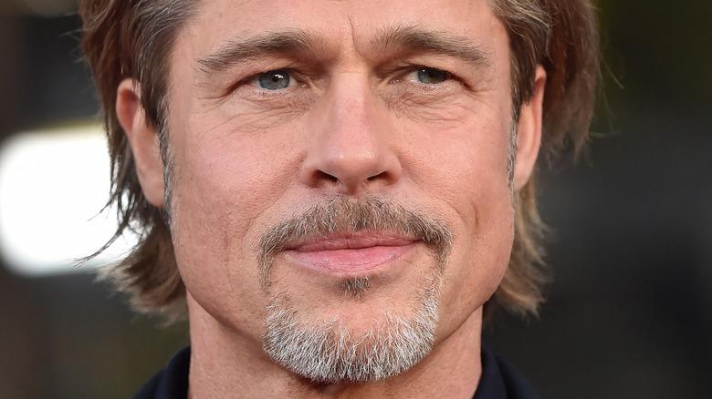 Brad Pitt on the red carpet