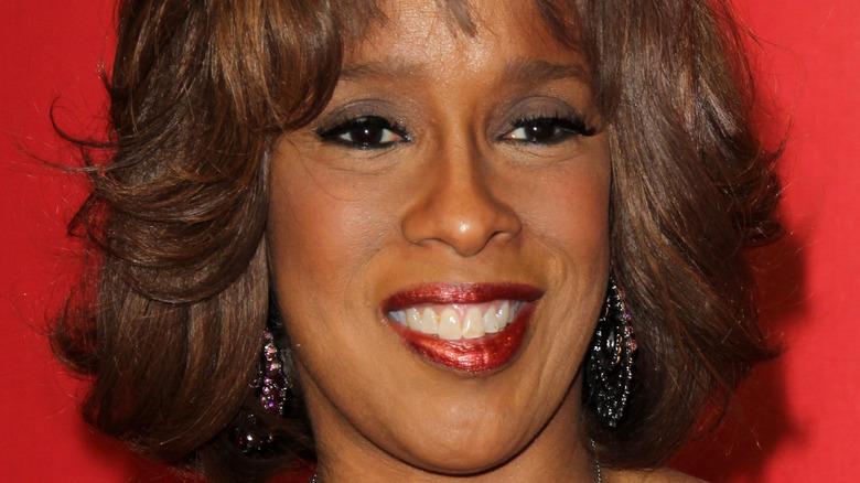 Gayle King smiling