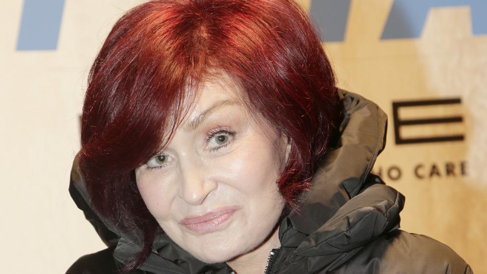 Sharon Osbourne smiling