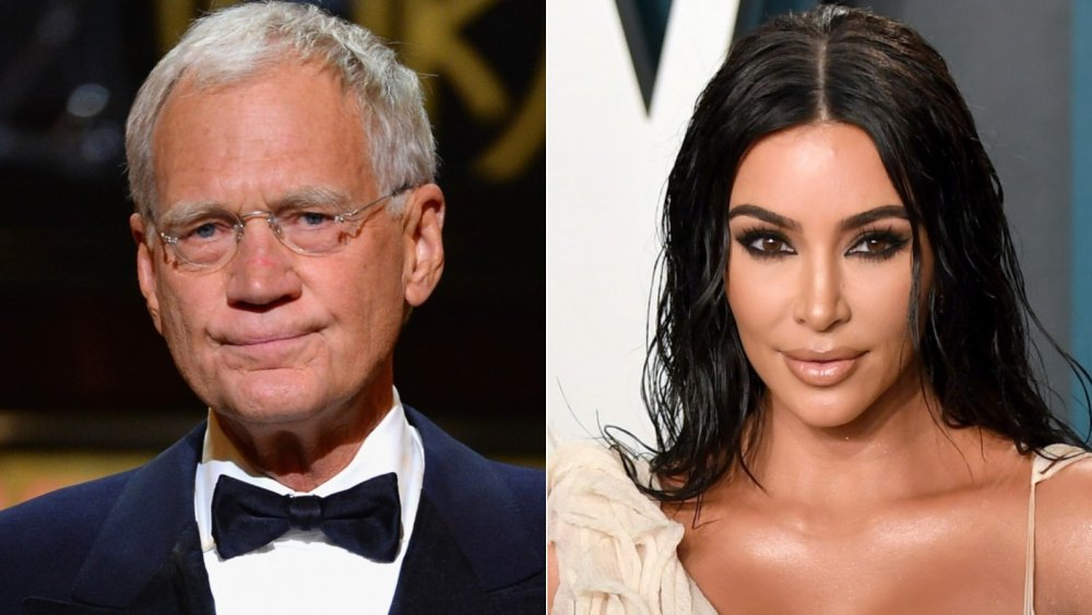 David Letterman, Kim Kardashian