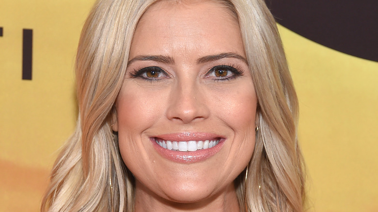 Christina Anstead Haack arrives for the 'Serengeti' Special Screening 2019