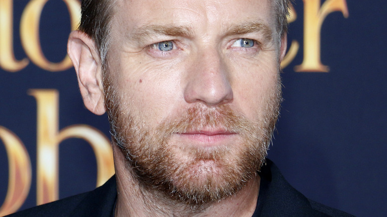 "Ewan McGregor at the ""Christopher Robin"" premiere"