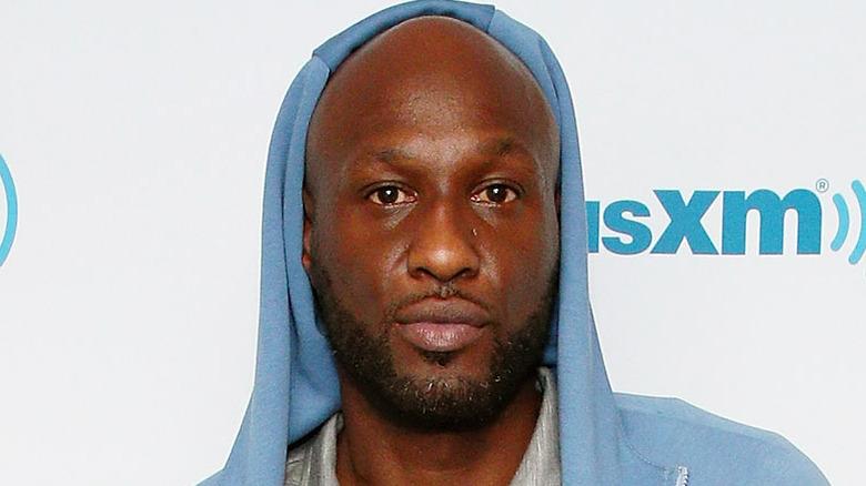 Lamar Odom visits the SiriusXM Studios
