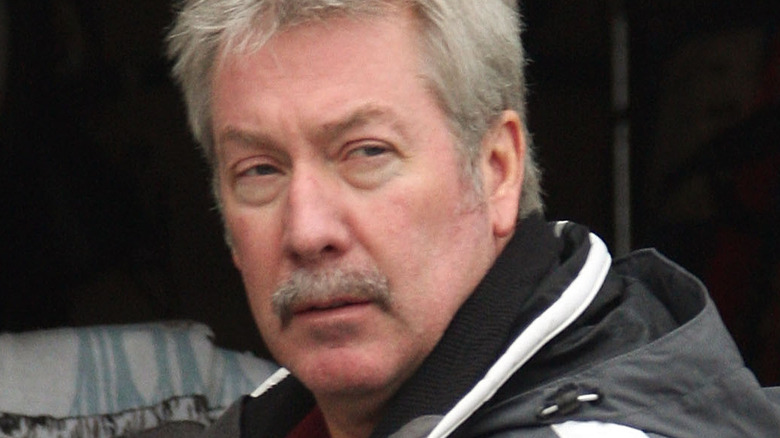Drew Peterson gazing off into the distance