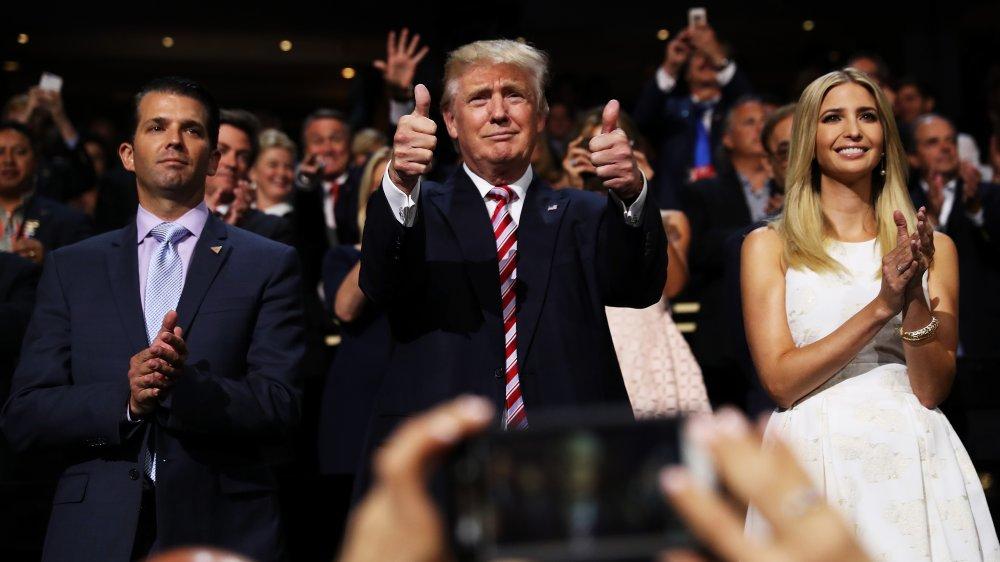 Donald Trump Jr., Donald Trump, Ivanka Trump