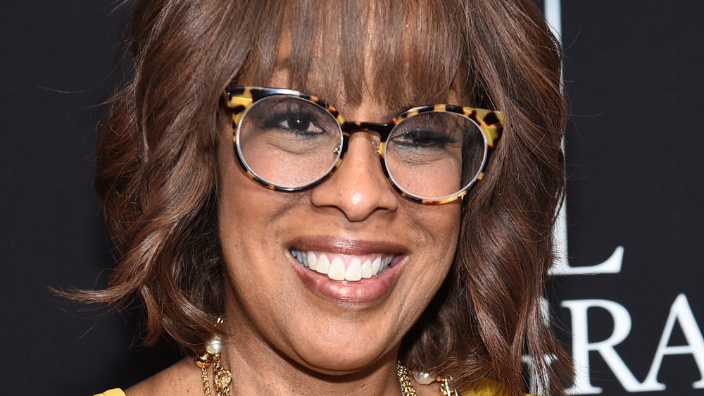 Gayle King in glasses