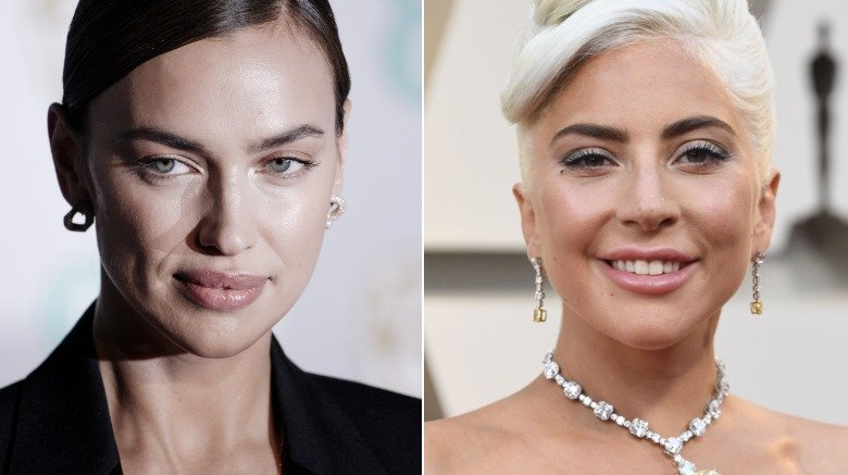 Irina Shayk and Lady Gaga