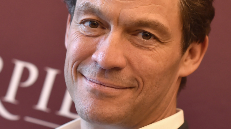 Dominic West on the red carpet