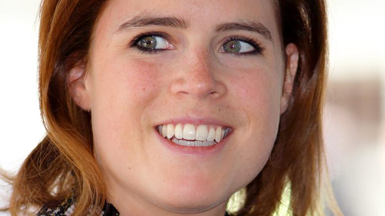 Princess Eugenie smiling