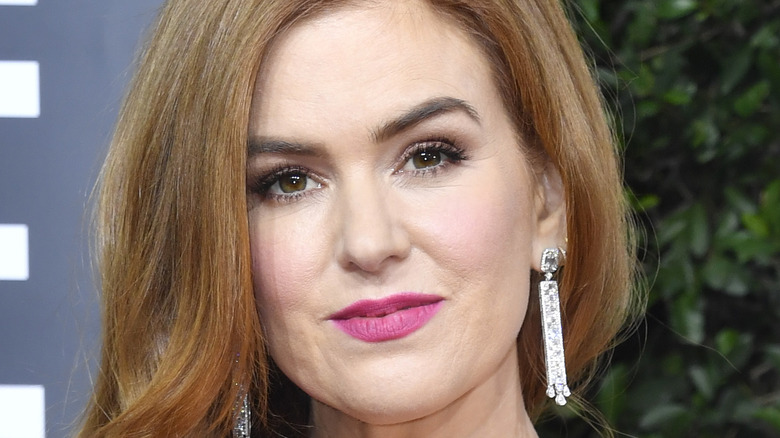 Isla Fisher at the Golden Globes