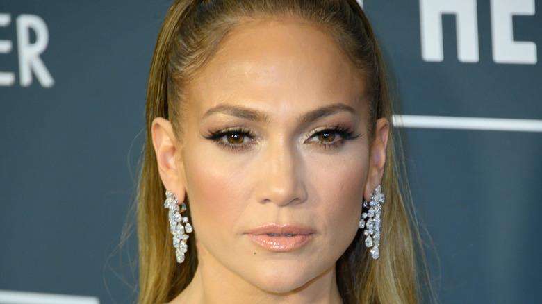 Jennifer Lopez in January 2020