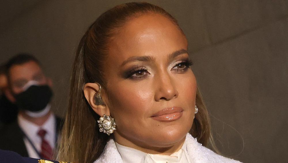 Jennifer Lopez at the 2021 Inauguration