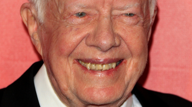 Jimmy Carter smiling at event