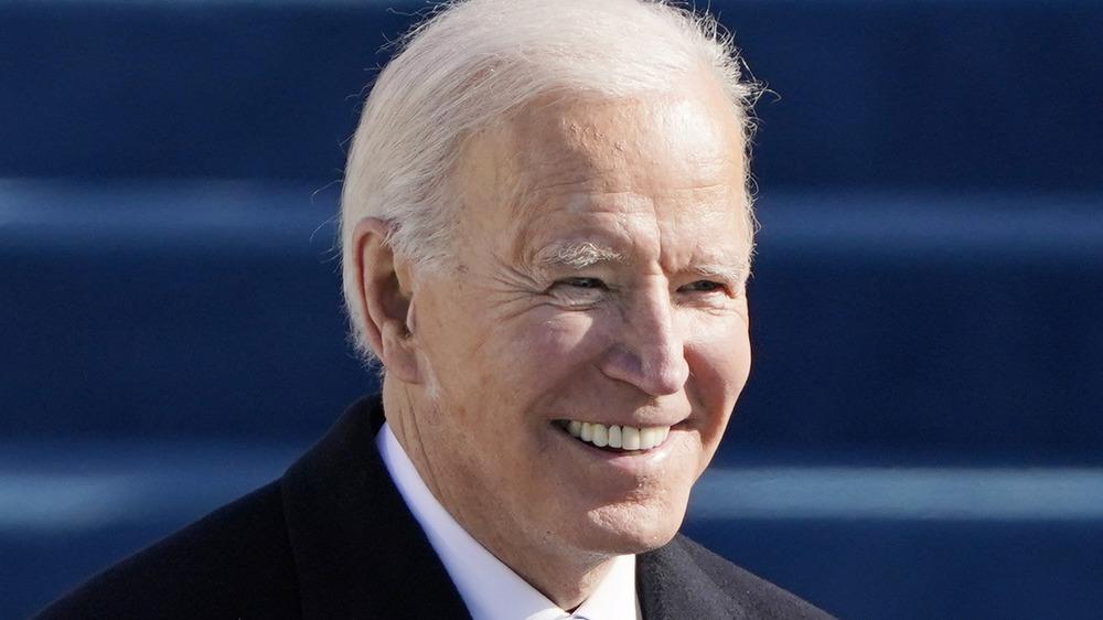 Joe Biden smiling