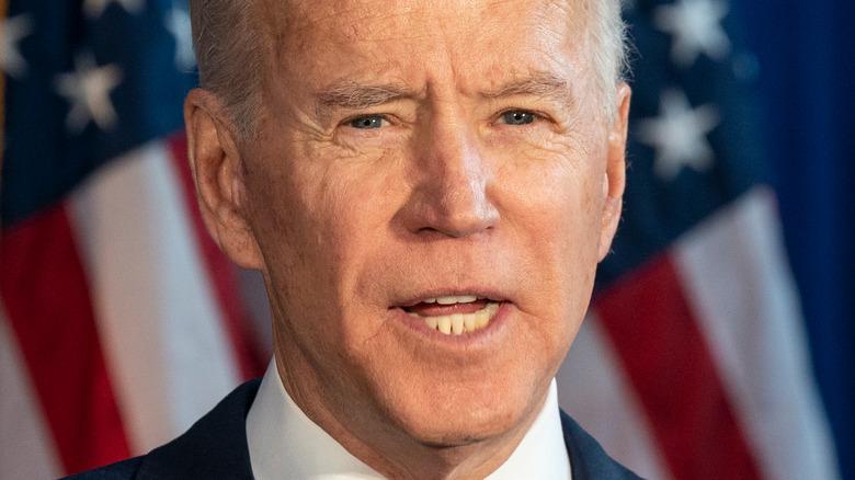Joe Biden speaking at 2020 event