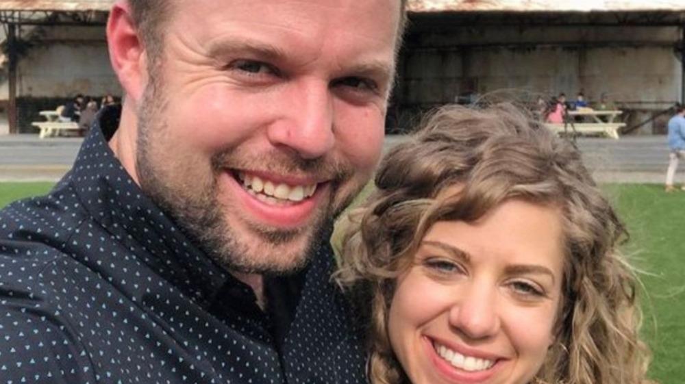 John David Duggar and Wife Abbie Duggar Instagram post Feb.27, 2021 at Magnolia Silos
