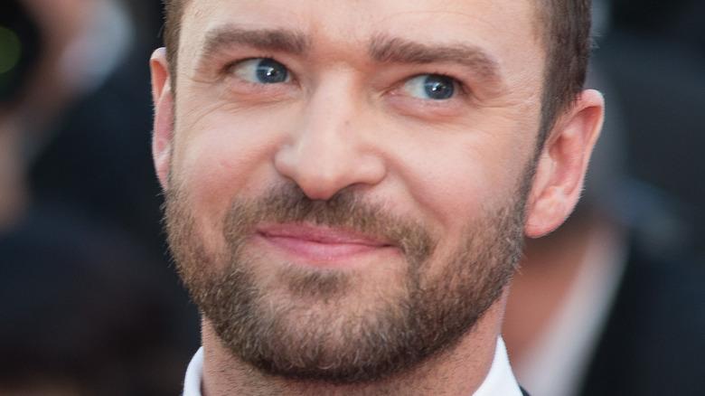 Justin Timberlake on the red carpet