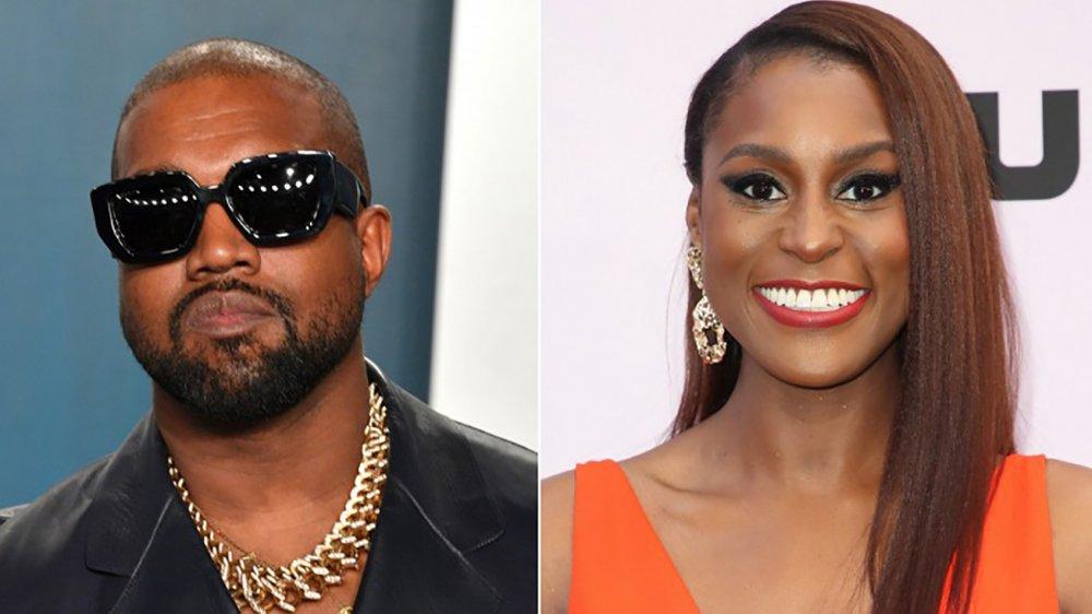 Kanye West and Issa Rae